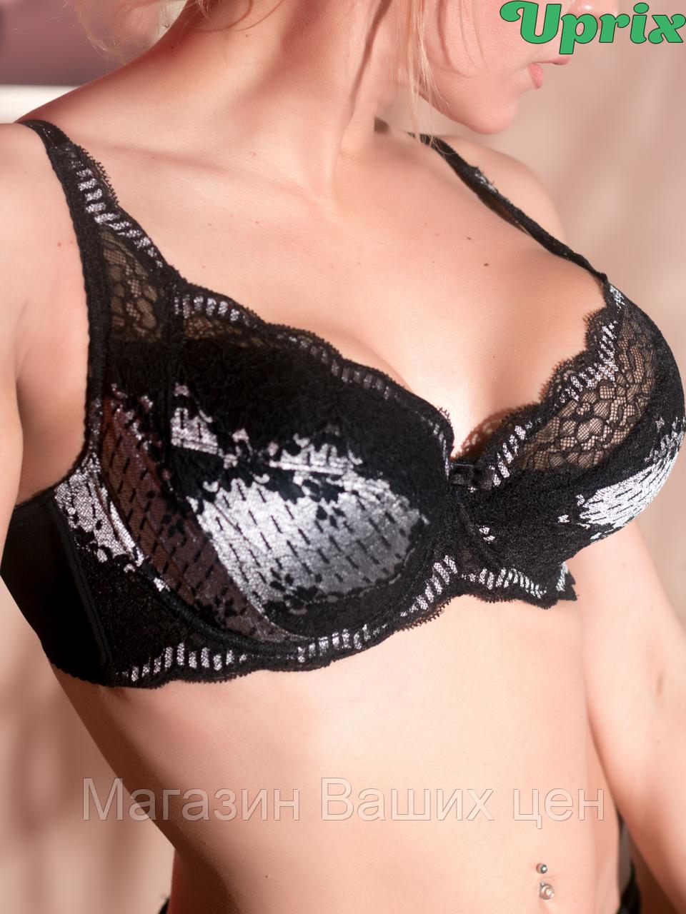 Бюстгальтер Diorella 63258D - чёрно-белый(опт)