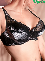Бюстгальтер Diorella 63258D - чёрно-белый(опт), фото 1