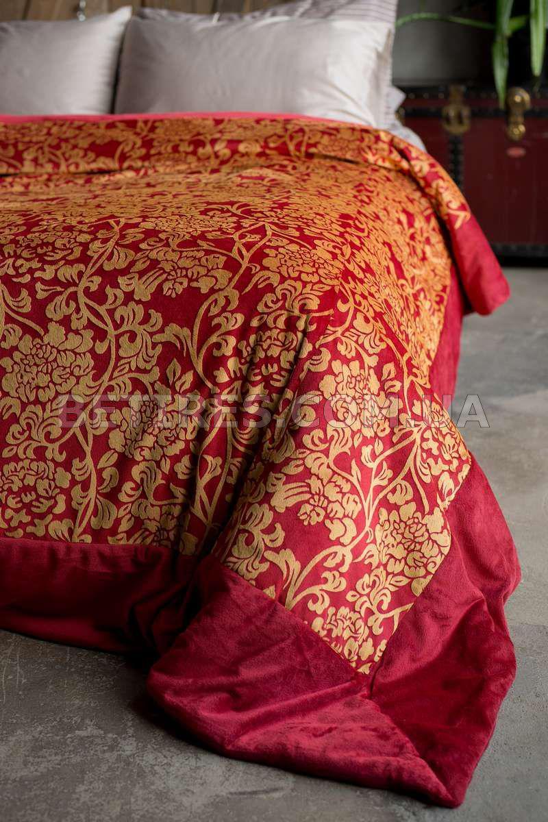 Покрывало 240x260 MORA VERONA (RED) красное