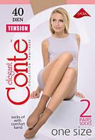 Женские капроновые носочки Conte Tension 40 Den