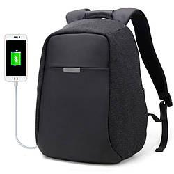 """Молодёжный городской рюкзак с конструкцией """"антивор"""" и USB портом Arctic Hunter 9912, 20л"""