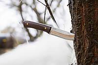 Нескладной нож для туризма и охоты (метал-дерево).
