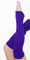 """Гетры для спортивно - бальных танцев """"Ensoul"""", 12 Фиолетовый, Mambo 60см"""