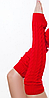 """Гетры для спортивно - бальных танцев """"Ensoul"""",  03 Красный, Mambo 60см"""