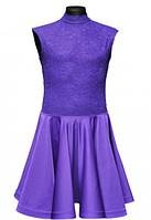 """Бейсик для спортивно - бальных танцев """"12 Фиолетовый"""""""