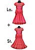 """Платье-бейсик для спортивно - бальных танцев """"'Латина'+'Стандарт' две юбки"""""""