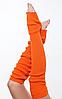 """Гетры для спортивно - бальных танцев """"Ensoul"""", Морковный, 40-60-80см"""
