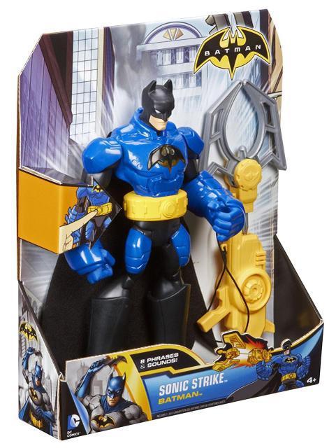 """Електронна іграшка """"Говорить"""" Бетмен зі зброєю - Sonic Stirke Batman, Mattel"""