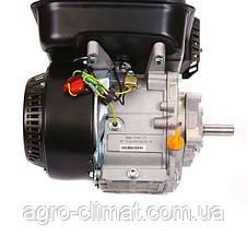 Двигатель Weima BT170F-L с редуктором (бак 5л, шпонка, вал 20мм, 1800 об/мин), бензин 7.5 л.с., фото 3