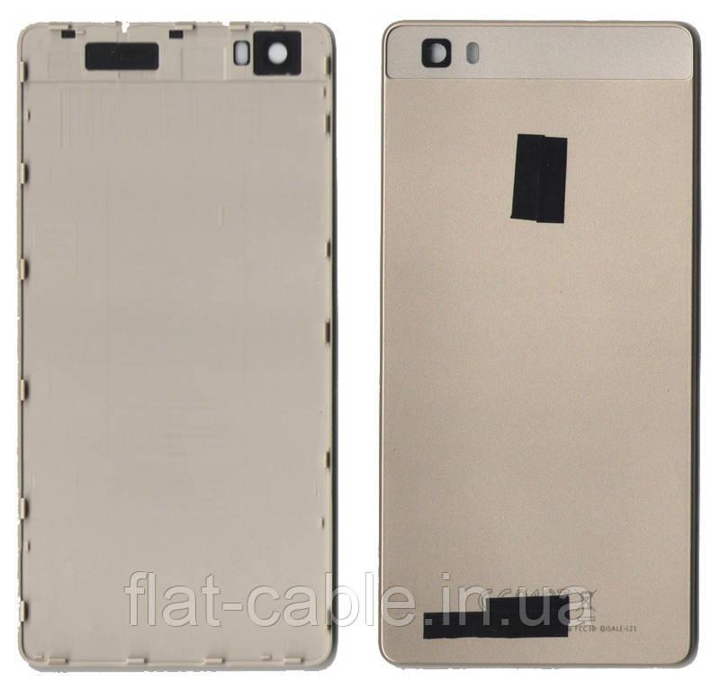 Кришка задня Huawei P8 Lite (ALE L21) Золота