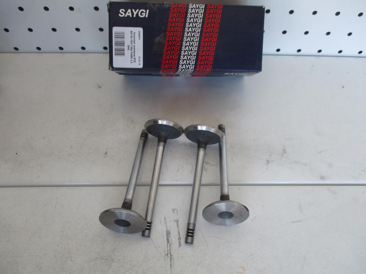 Комплект клапанов STD SAYGI 7837/7885 FORD 2.0  OHC
