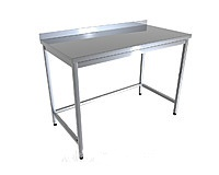 Стол производственный CHIMNEYBUD, 1100x500x850 мм. ( сталь/430)