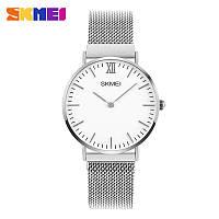 Женские наручные часы Skmei 1319 Magnetic серебристые, фото 1