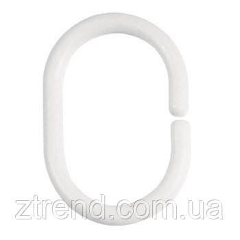 Кольца для штор Spirella C-MINOR белый