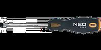 Отвертка шлицевая CrMo, NEO 04-001, 04-002, 04-003, 04-004, 04-011, 04-012,04-013,04-014, 04-015,04-016,04-111