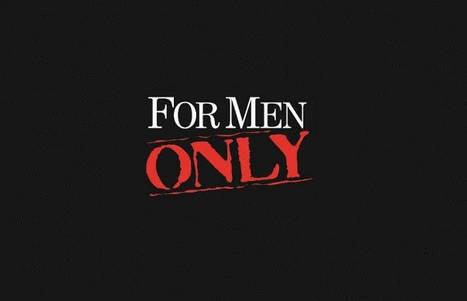 Только для мужчин
