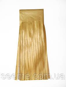 Бумажная гирлянда-кисточка из тишью «Золото», набор из 5 шт.