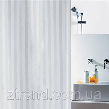 Шторка для ванной текстильная Spirella MAGI белая