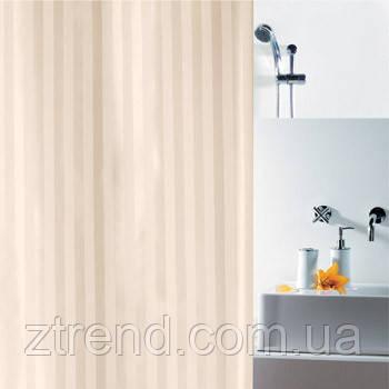 Шторка для ванной текстильная Spirella MAGI бежевая