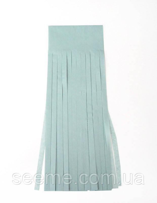 Бумажная гирлянда-кисточка из тишью «Blue Haze», набор из 5 шт.