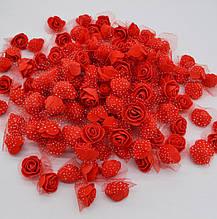 Набор цветков искусственных - в наборе 48-50шт., размер одного цветка около 3см, пена