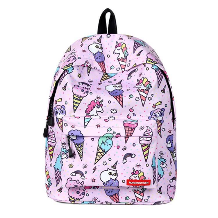 Школьный рюкзак Мороженое