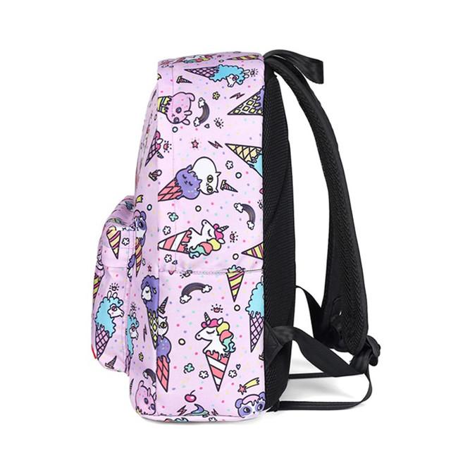Школьный рюкзак Мороженное