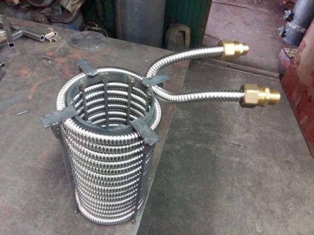 Змеевик для теплообменника из гофрированной трубы Кожухотрубный испаритель Alfa Laval DEQ 535 Волгодонск
