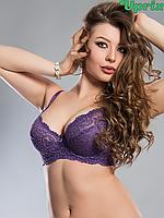 Бюстгальтер Diorella 69196DD - фиолетовый(опт), фото 1