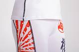 Женские лосины Berserk KYOKUSHIN white для бега, йоги, фитнеса , фото 4