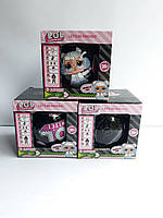 Кукла LOL 7 серия черный шар
