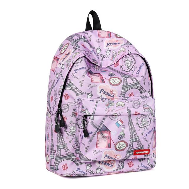 Школьный рюкзак Париж