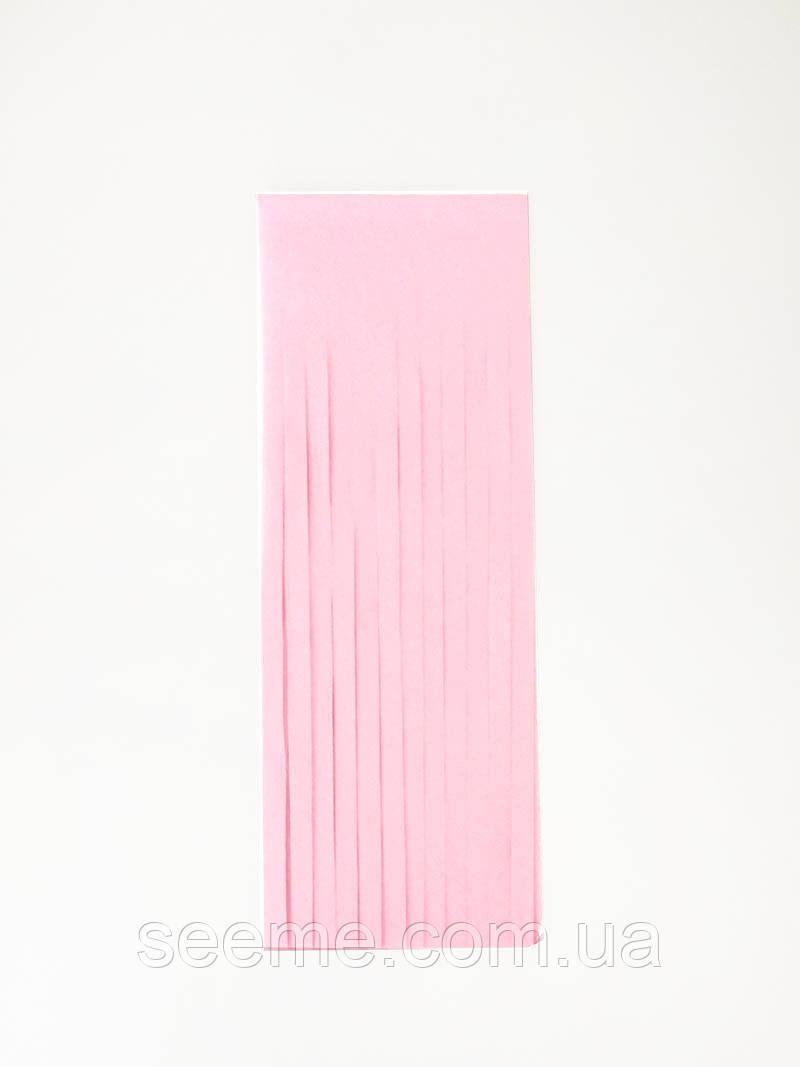 Бумажная гирлянда-кисточка из тишью «Light Pink», набор из 5 шт.