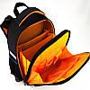 Школьный каркасный рюкзак Hot Wheel. Дышащая спинка, умный органайзер. Доставка бесплатно., фото 3