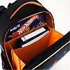 Школьный каркасный рюкзак Hot Wheel. Дышащая спинка, умный органайзер. Доставка бесплатно., фото 8