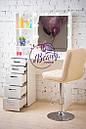 Гримерный столик с полочками, столик для макияжа с подсветкой, фото 3
