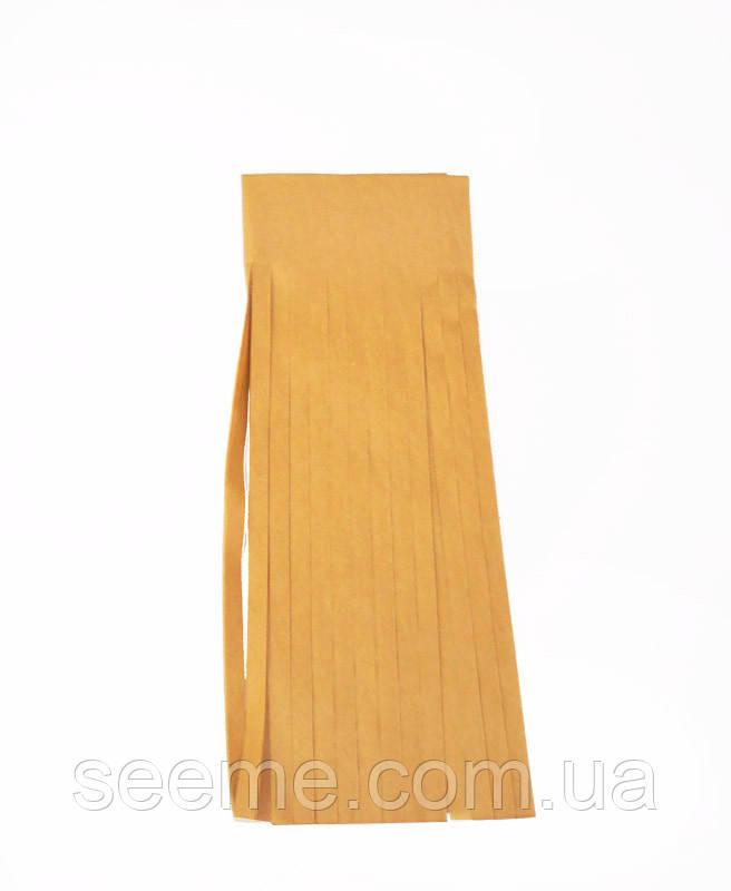 Бумажная гирлянда-кисточка из тишью «Noble Gold», набор из 5 шт.