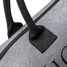Сумка пляжная / спортивная / дорожная Виктория Сикрет (Victoria's Secret) Limited edition silver tote VS23, фото 3