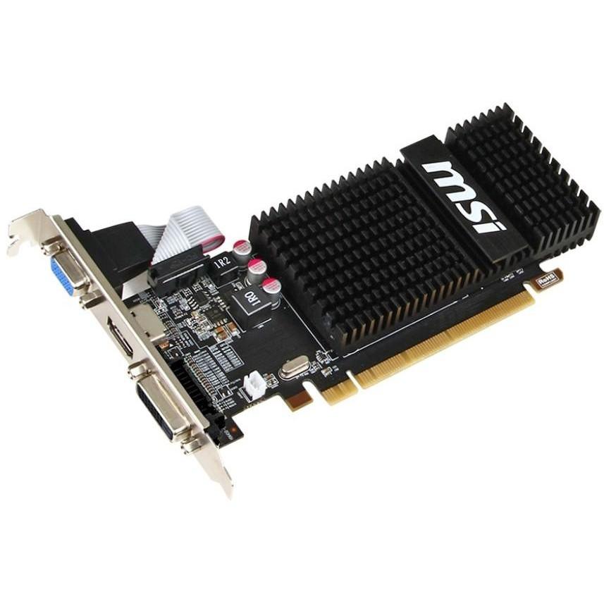 "Видеокарта MSI R5 230 2GB 64bit DDR3 ""Over-Stock"" Б/У"