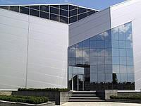 Проектирование и монтаж светопрозрачных алюминиевых фасадных систем Спайдерное остекление