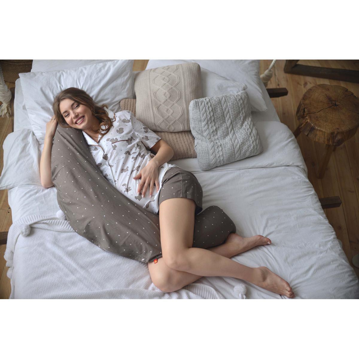 """Подушка для беременных """"Релакс"""" Мамин Дом 2050"""