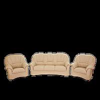 Комплект мягкой кожаной мебели Мельбурн кожа Soft Leather