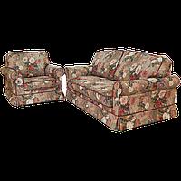 Комплект мягкой мебели Кристи ткань Вера грей02/Арис