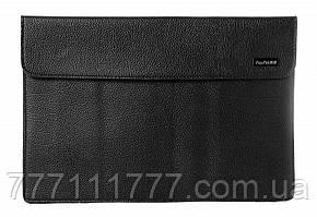 Сумка EGGO для Macbook 11 дюймов, кожа, черный