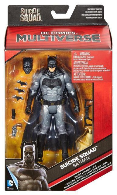 """Фігурка Бетмена з к\ф """"Загін Самогубців"""" 15 см - Batman, Suicide Присідання, Mattel, DC Comics"""