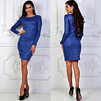 Платье люрексовое облегающее в расцветках 25254, фото 1