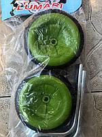 Колеса вспомогательные Lumari для детского велосипеда зеленые