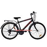 Дорожный велосипед Mustang Upland 24 дюйма черно-красный