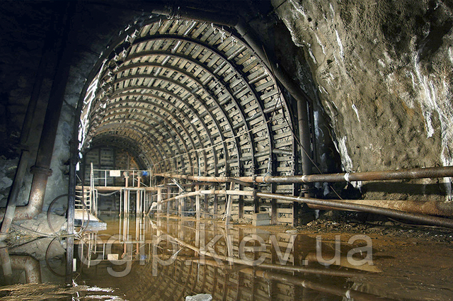 Гидроизоляция шахт (шахтных стволов)