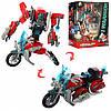 Трансформер J8016A  робот+мотоцикл, 17см, в кор-ке, 30,5-25-11см